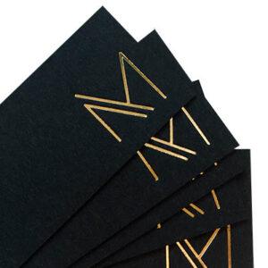 Visitekaartje Manao Design Contact